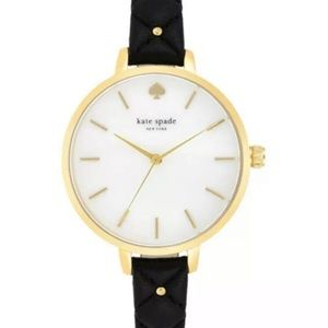 🆕 Kate Spade New York Metro Dial Black Watch